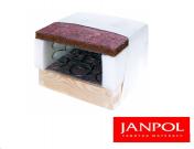 Materac bonellowy Janpol AJAX na stelażu