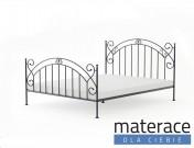 Łóżko kute Amara Materace Dla Ciebie