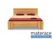 Łóżko drewniane Arhus High BC Sosna Materace Dla Ciebie