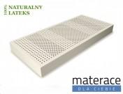 Materac lateksowy 100% Li średniotwardy Materace Dla Ciebie