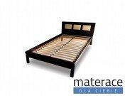 Łóżko drewniane Jofi z podświetleniem Materace Dla Ciebie