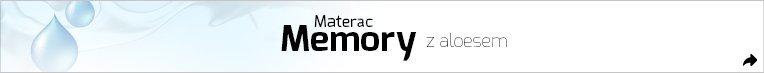Sleeptime - Materac memory z aloesem